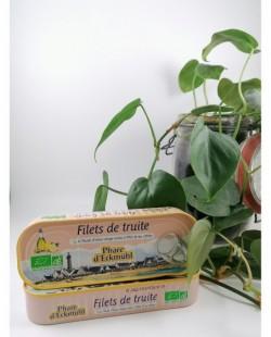 Filets de truite citron 130g